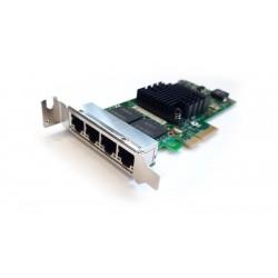 Network Card INTEL I350-T4 QUAD PORT I350T4G2P20 934608 LP