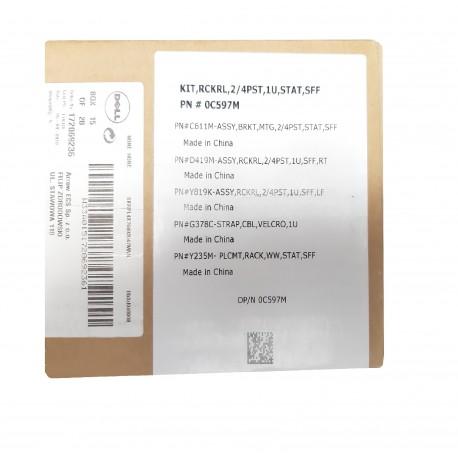 Rails Dell R310 R410 R415 NX3500 0C597M PowerEdge