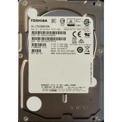 "Nowy TOSHIBA AL13SXB600N 600GB 15K 6Gbps SAS 2.5"" HDD 64MB"