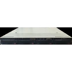 "Supermicro X9DRL-EF 2x E5-2660 v2 64GB 4x Tray 3,5"""