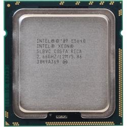 Intel Xeon E5640 SLBVC 2,66-2,93GHz LGA1366
