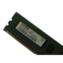 Memory ELPIDA 4GB 2Rx8 PC3-10600E DDR3 ECC EBJ41EF8BCFA HP ML110 DELL T110 G6