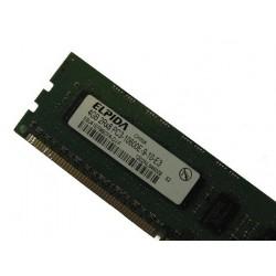 Memory ELPIDA 4GB 2Rx8 PC3-10600E DDR3 ECC EBJ41EF8BCFA HP ML110 DELL T110 G6